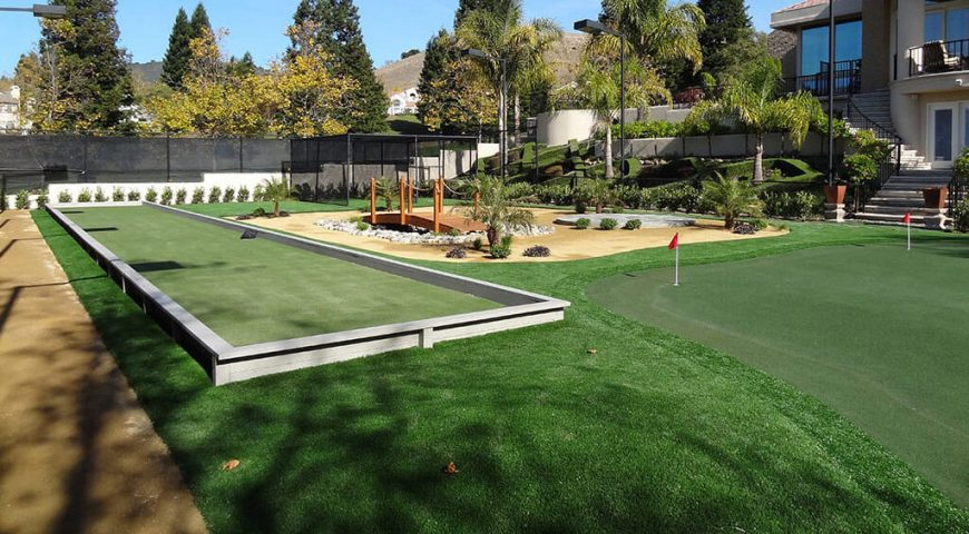 When is preferable to use artificial grass?