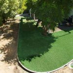 Synthetic grass for gardens in San Jose
