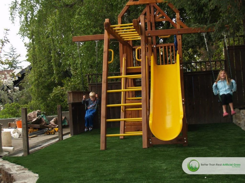 Artificial Grass Playgrounds Installation Projects In