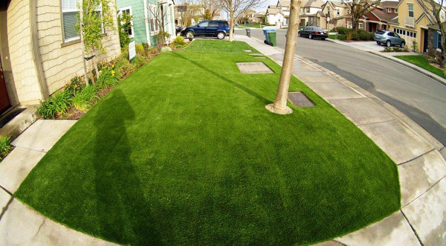 Artificial Grass for Residential Landscapes, California