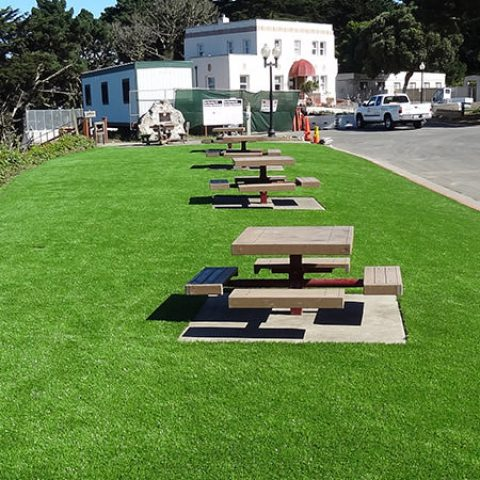 Commercial Artificial Grass Installation