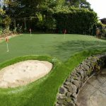 A Golfer's Dream: Having a Putting Green at Home
