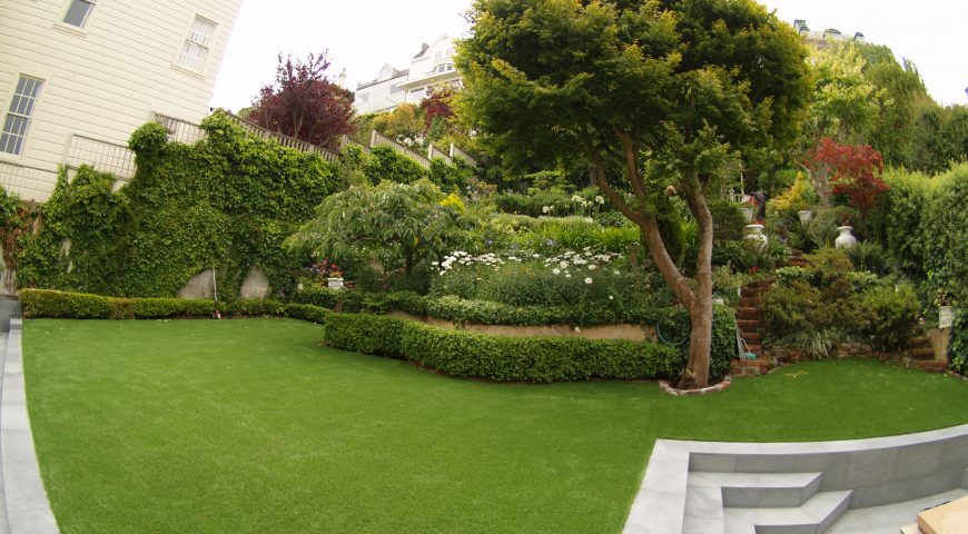 Basic maintenance of artificial grass