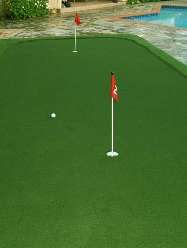 Artificial Putting Green Features