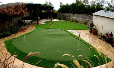 Artificial Grass Putting Green Installation