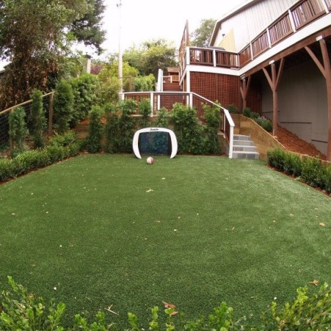 Mill Valley artificial grass playground