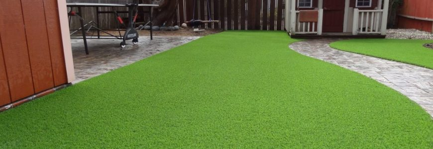 Artificial Grass Playhouse