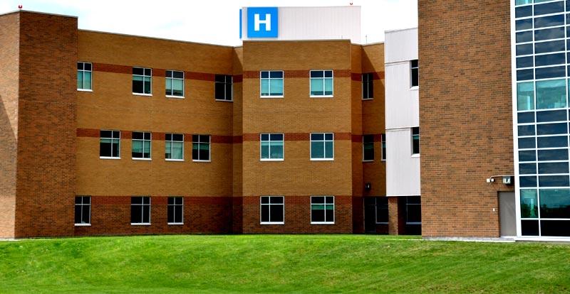 Artificial grass for hospitals