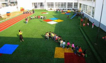 Make playgrounds beautiful with artificial grass