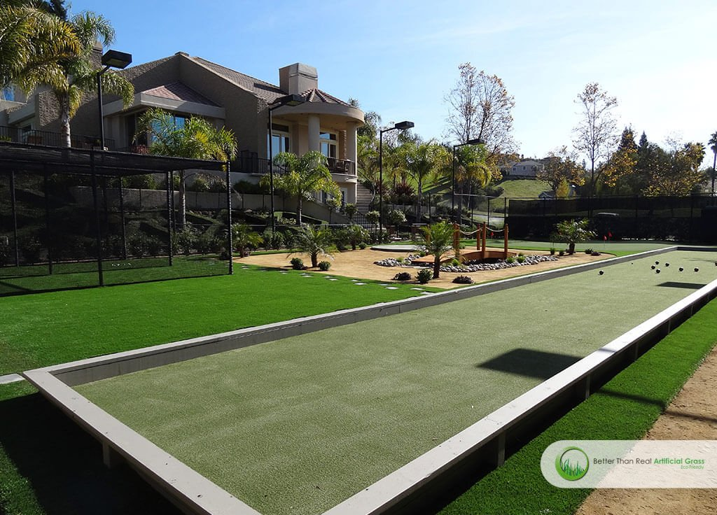 Artificial Turf For Bocce Ball Courts