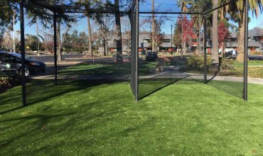 Installation of artificial grass for companies in San Jose