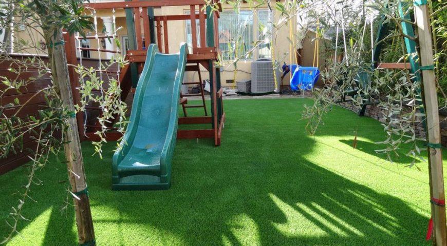 Artificial Grass Playground County of Santa Clara