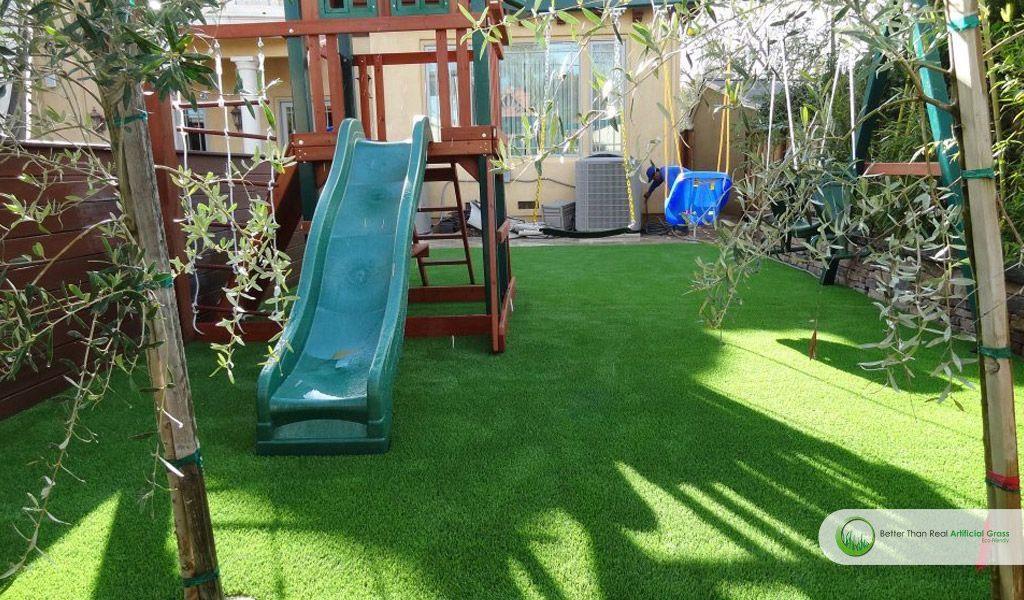 Artificial Grass Playground
