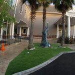 Artificial grass for businesses and commercial buildings, San Jose