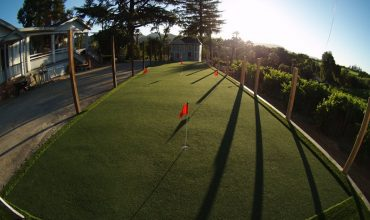 Synthetic turf for event spaces in commercial and residential zones in San Jose