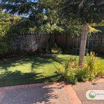Artificial grass for multiuse playground area in Fairfax, California
