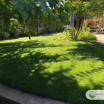 Artificial grass for multiuse playground area in Fairfax, California