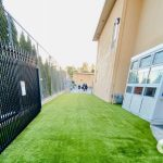 Artificial grass for a school in Corte Madera - California
