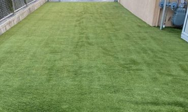 Artificial grass for a school in Corte Madera, California