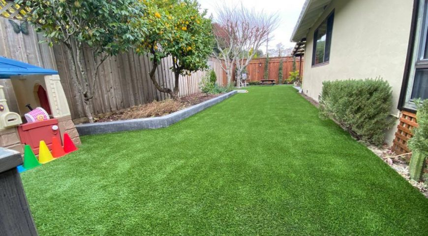 Garden renovation with artificial grass? Get a new, New Year's look for your home or company!