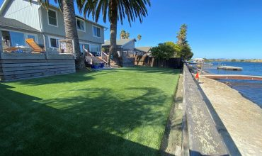 Renew your garden with artificial grass: Seaside project in Novato, CA