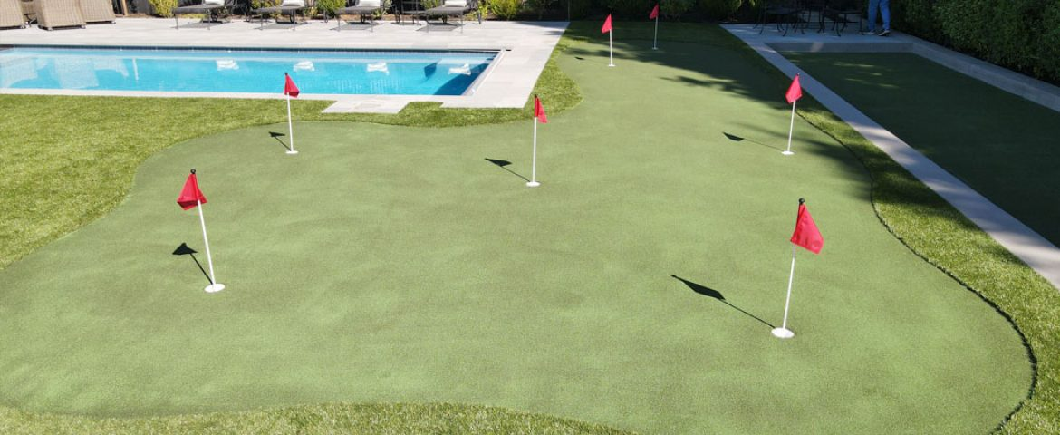 How to Take Care of Your  Artificial Turf Putting Green
