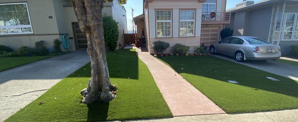 The Benefits of Installing Artificial Grass in Small Spaces