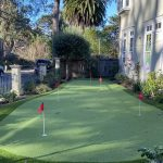 Install a synthetic putting green in your backyard Let us do it for you!