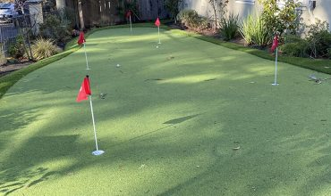 Artificial Grass Putting Green Installation in San José