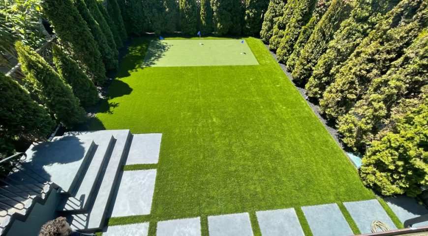 Turn Your Backyard into a Golf Putting Green: BTRG Does it for You