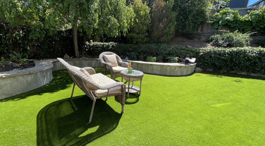 Artificial Turf that Looks and Feels Like Real Grass